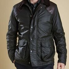 MEN'S BARBOUR LAND ROVERS ESPIONAGE WAX JACKET (OLIVE GREEN) L Originally £449.