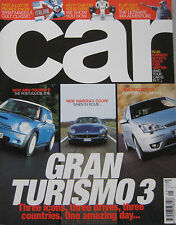 CAR May 2002 featuring Mini Cooper S, Ford ST170, Maserati, Chrysler Crossfire