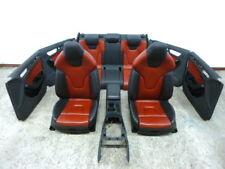 Audi S4 8K B8 Lederausstattung Leder Sport Sitze Schwarz Rot interior A4 RS4