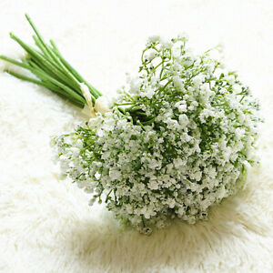 32* Artificial Fake Baby's Breath Gypsophila Silk Flowers Wedding Decor #J0