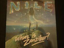 "Nile ""Where Is Zanibar ?"" Original LP. 1st pressing. 1985. VERY RARE !"
