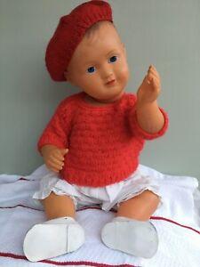 1930s French Celluloid SNF Bébé François Doll 40cm Baby Francois