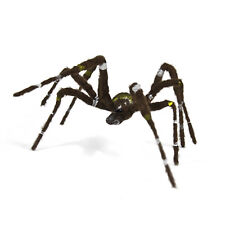 Haunted House Creepy Furry Brown Big Wolf Spider Halloween Home Prop Decoration
