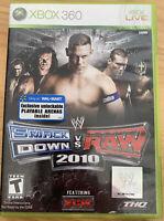 WWE SmackDown vs. Raw 2010 Featuring ECW (Microsoft Xbox 360, 2009)