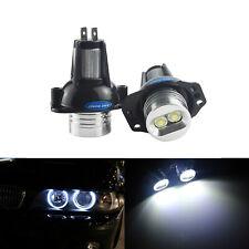 2x BMW E90 E91 Canbus Angel Eyes Halo LED Marker 3 Series Light Bulbs No Error