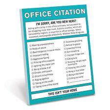 Knock Knock Office Citation - Nifty Notes