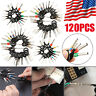 120pcs Car Terminal Removal Tool Kit Wire Connector Extractor Puller Release Pin