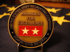 USAREC Commanding General Challenge Coin Recruiting Command US Army USA Made