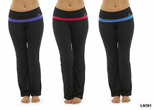Ladies Yoga Pants Top T-Shirt Gym Jogging 3/4 Bottoms Pilates Fitness Matching