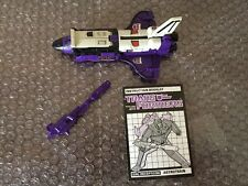 Hasbro Transformers G1 Astrotrain 100% Loose Complete 1985