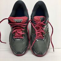 Brooks Glycerin 14 Women's Athletic Shoes Sz 9 Gray Pink