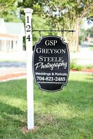 Outdoor Custom Wood Sign for Company, Business or Home Advertising Your Logo