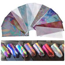 DR7 EG_ 12x Multicolor Starry Sky Nail Foils Stickers Manicure DIY Transfer Stic