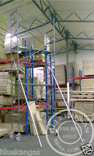 5m High Mobile Scaffold Scaffolding Tower For Stairwell With 1m Safety Rail