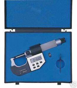 "Electronic / Digital Micrometer 50mm - 75mm/ 2 - 3""*"