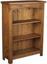 SOLID WOODEN BOOKCASE BOOKSHELVES SIDEBOARD rustic plank pine furniture shelves