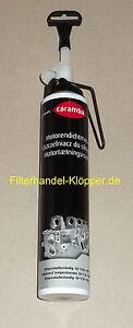 (6,60€/100ml) Caramba Motordichtmasse, Gehäusedichtmasse Schwarz 200 ml