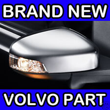 Volvo C30 (10-12) (Matt Chrome) Right Hand Wing Door Mirror Back Cover / Casing
