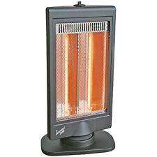 NEW Comfort Zone Czhtv9 Oscillating Flat Panel Dual Halogen Heater