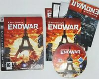 ENDWAR - TOM CLANCY'S - STEELBOOK EDITION - SONY PLAYSTATION 3 PS3 GAME - VGC
