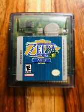 Legend of Zelda Oracle of Ages Nintendo Game Boy Color 2001 NEAR MINT EXLNT
