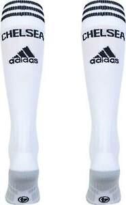Chelsea Football Socks - Adidas - White/Black  CFC Football Socks