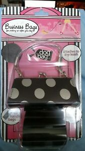 NWT, Dog Bag Dog Business Bags,  Little Black Purse with Black Bags,