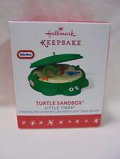 2016 Hallmark Miniature Ornament Little Tikes Turtle Sandbox B28