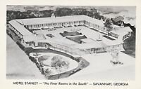 "*Georgia Postcard-""Motel Stanley"" /Savannah, GA. (U1-GA11)"
