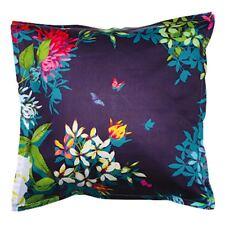 Tropicana Charcoal Euro Pillowcase 65x65cm