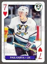 1995-96 NHL Aces Playing Card #20 Paul Kariya