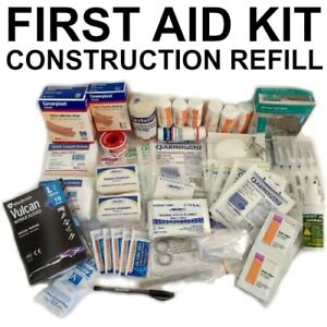 REFILL First Aid Kit Construction Work Place BUILDER TRADIE CARPENTER CONCRETE