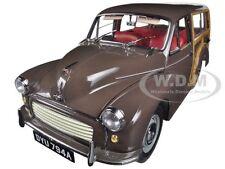 1967 MORRIS MINOR 1000 TRAVELLER BROWN 1/12 DIECAST MODEL CAR BY SUNSTAR 4794
