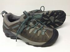 KEEN Targhee II Waterproof Women Size 8 Trail/Hiking Shoes Gray/Teal 1004089