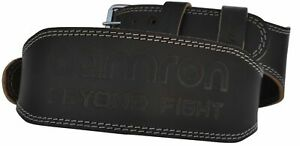 """Aamron ® 4"""" Tanned Leather Weight Lifting Belt Back Support Strap Gym Training"""