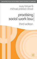 Practising Social Work Law by Michael Preston-Shoot, Suzy Braye (Paperback, 200…
