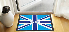 61x40.6cm personnalisé bleu Union Jack Porte d'entrée Tapis anti-dérapant