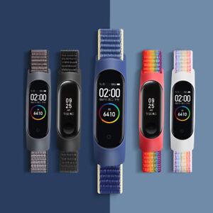 For Xiaomi Mi Band 3/4/5/6 Smart Watch Strap Nylon Rope Sports Fashion Wristband