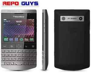 BlackBerry Porsche Design P'9981 8GB Silver Arabic & English