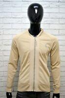 Felpa Cardigan Uomo LEVI'S Taglia XXL Pullover Sweater Man Grey Maglione Casual