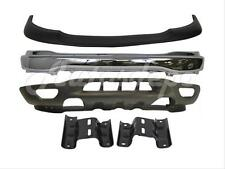 Front Bumper Pad Face Bar Chrome Valance Mounting Bracket For 99-03 F150 4WD