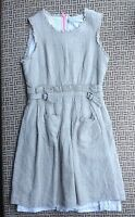 KATE SYLVESTER WOMENS LINEN DRESS SIZE S MADE IN NEW ZEALAND EXCELLENT CONDITION
