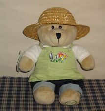 2006 Starbucks Bearista Summer Gardner Plush Bear New with Tag 47th Edition