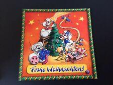 Weihnachtskarte Diddl, Sonderkarte 12/04 NEU, original Depesche,selten & Rarität