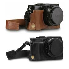 MegaGear Panasonic Lumix DC-LX100 II Ever Ready Genuine Leather Camera Half Case