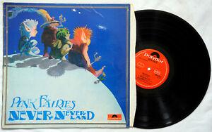 Pink Fairies Never Neverland Original LP UK press Polydor 2383 045 A1 B1 1971