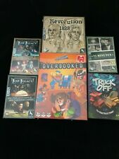 *NEU* Exzellentes Spielepaket, Konvolut, Overbooked, Lost Legacy etc., alles NEU
