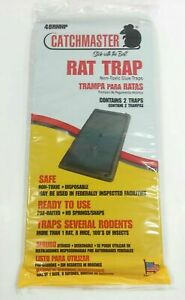 Catchmaster Glue Sticky Board  Mouse Rat Mice Spider Snake Insect Trap .RAT TRAP