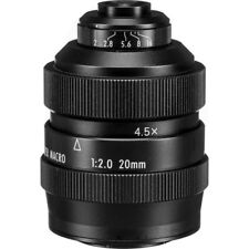 Zhongyi Mitakon 20mm f/2 4.5X Super Macro Lens for Micro 4/3 mount MFT OM-D GH4