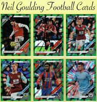 Panini CHRONICLES 2020 ☆ DONRUSS SOCCER GREEN PARALLEL Premier League Cards #/50